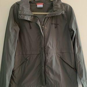 Columbia rain coat/ utility jacket